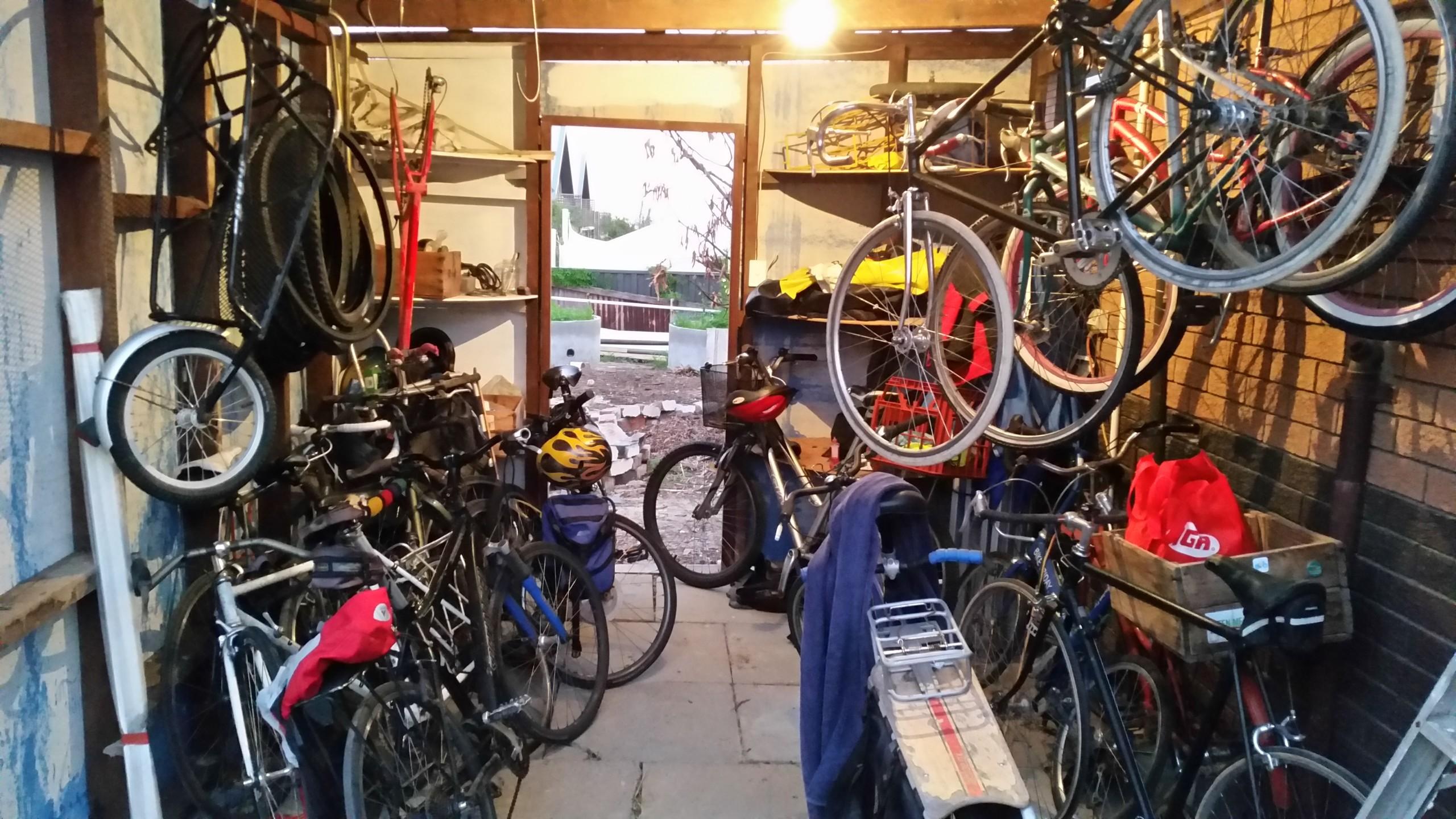 17 bikes